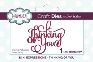 Mini Expressions - Thinking of You